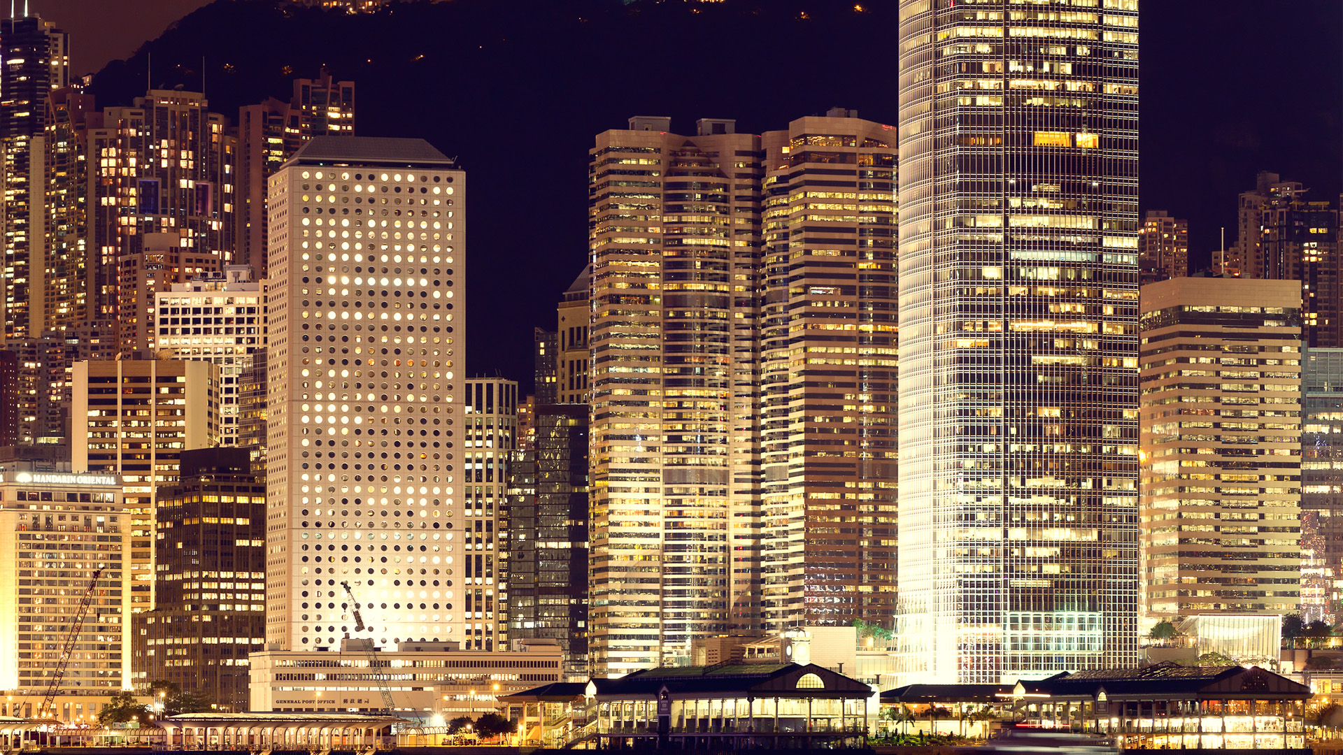 Hongkong Skylines Panoramic color 6
